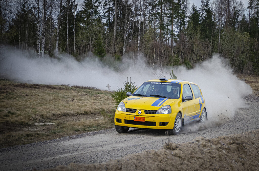 RallyJennyh - Renault Clio Grupp N rallybil