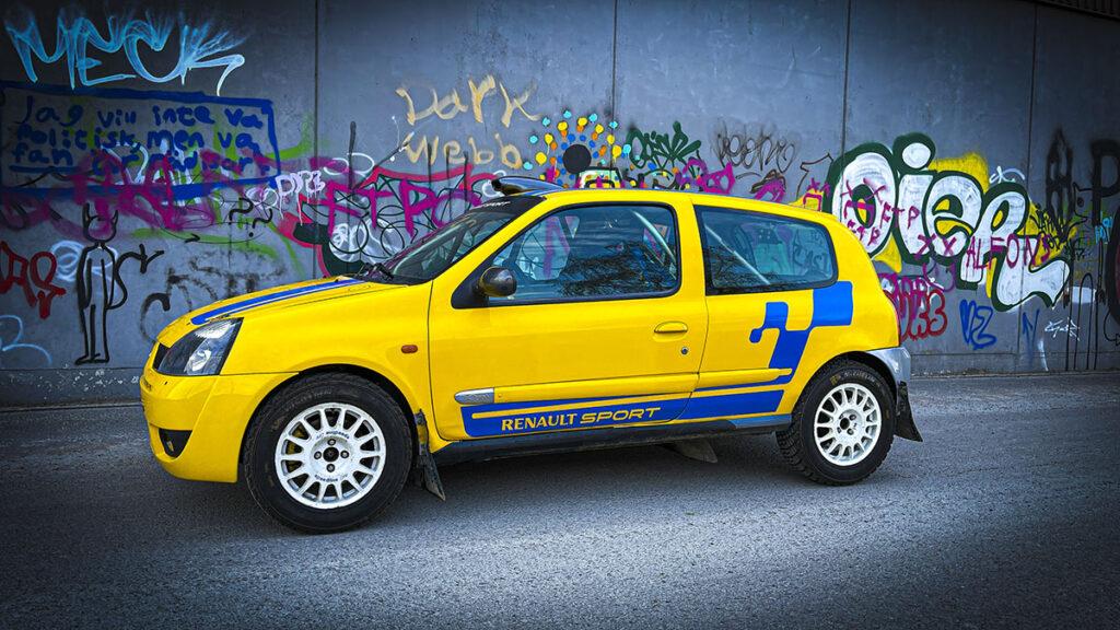 Renault Clio Ragnotti grupp N rallybil