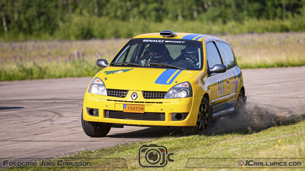 Jennyh Persson / Frida Olofsson Drive VXO Asfalt-SM Rally-SM 2021